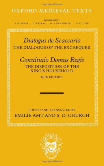 Dialogus de Scaccario, and Constitutio Domus Regis