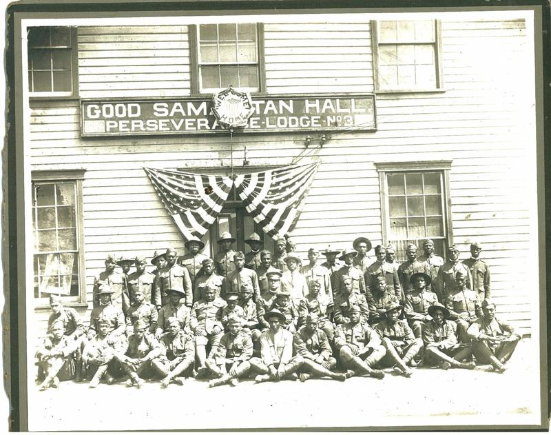 African-American veterans of World War I in Hagerstown, MD