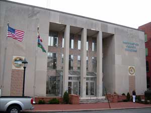 A location to look for black ancestors: Washington County Courthouse on Summit Avenue, Hagerstown