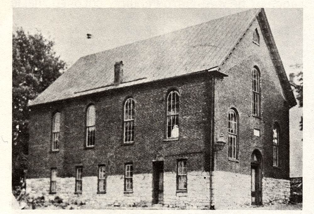 Ebenezer AME Church, Hagerstown – built 1841 by Rev. Thomas Henry; rebuilt 1868; demolished 1910