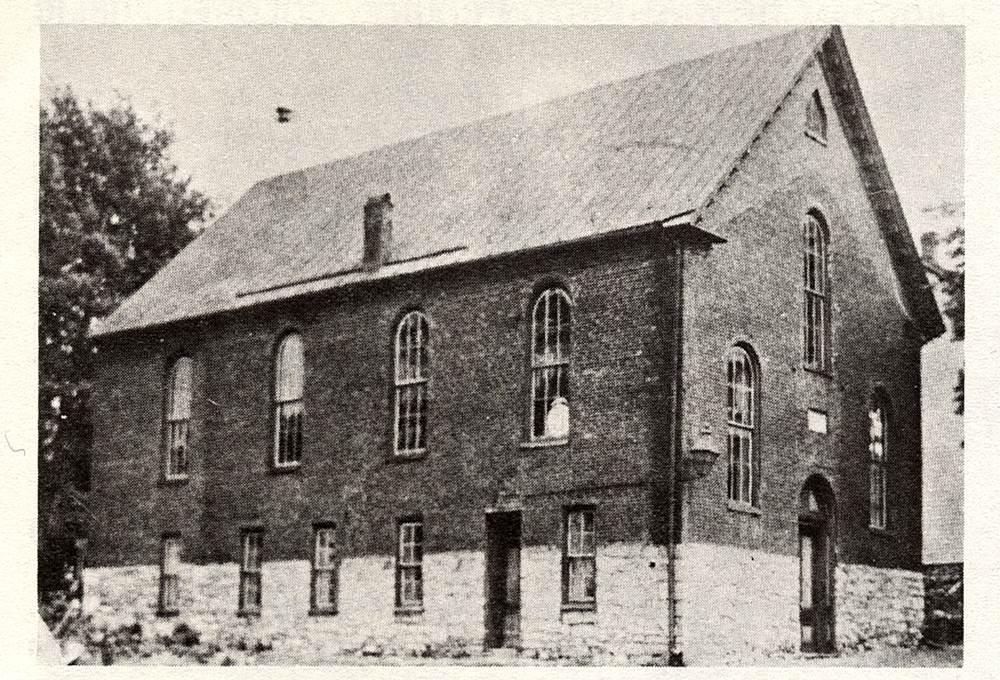 Ebenezer AME Church, Hagerstown – built 1841 by Rev. Thomas Henry; rebuilt 1868; demolished 1910