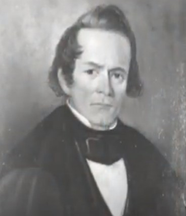 Early nineteenth-century portrait of a man in academic dress